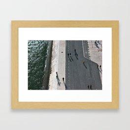 HUMAN PAINTING Framed Art Print