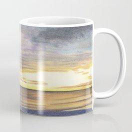 Beautiful Sunset at the Beach Coffee Mug