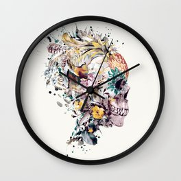 Momento Mori VII Wall Clock