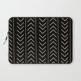 Mudcloth Black Laptop Sleeve