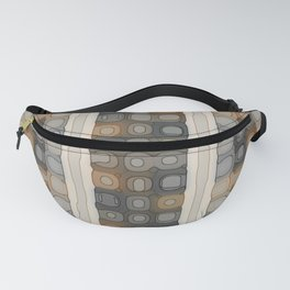 Pale Spacey Panels Fanny Pack