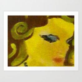 Selene Art Print