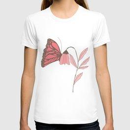 Monarch garden 007 T-shirt
