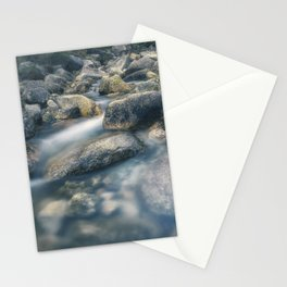 Arado river flowing through the rocks. Stationery Cards