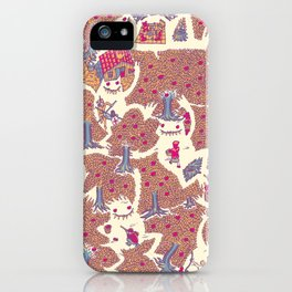The orchard is such a very silly place iPhone Case