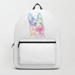 Splash German Shepherd Backpack