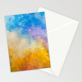Motions of Color Stationery Cards