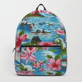 Hawaiian Scenes Backpack