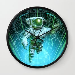 Diving The Data Core Wall Clock