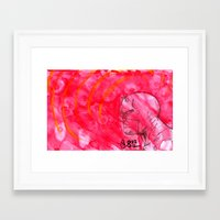 daredevil Framed Art Prints featuring Daredevil by s133pDEADart