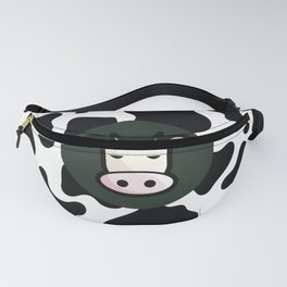 Funky Cow Skin Print Fanny Pack