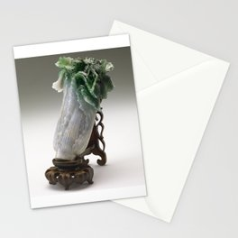 The Jadeite Cabbage Stationery Cards