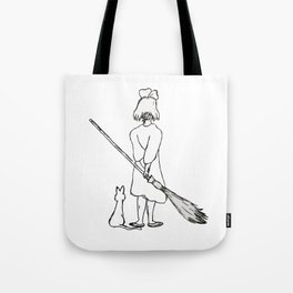 Believe in Yourself (Kiki) - Sketch Tote Bag