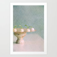 cake Art Prints featuring cake? by Claudia Drossert