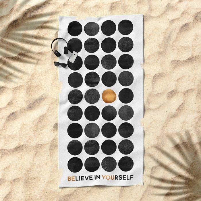Be You / Version 3 Beach Towel