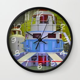 machine room HPP Wall Clock