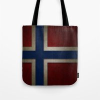 norway Tote Bags featuring Norway by The Traveller, Wanderlust and Me