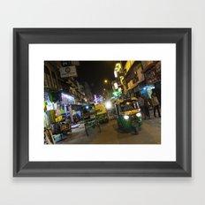 Delhi Nights Framed Art Print