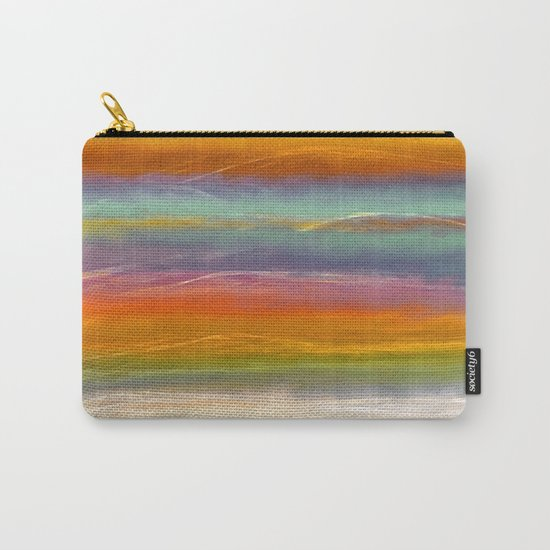 Beautiful Mountains Abstract Landscape 16 Carry-All Pouch