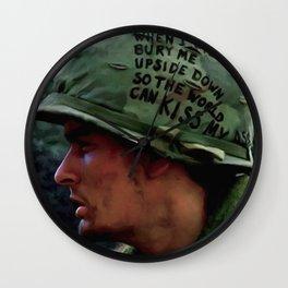 Charlie Sheen #2 @ Platoon Wall Clock