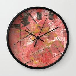 Uh Huh1 Wall Clock