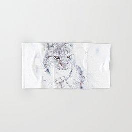 Wild Cat Hand & Bath Towel