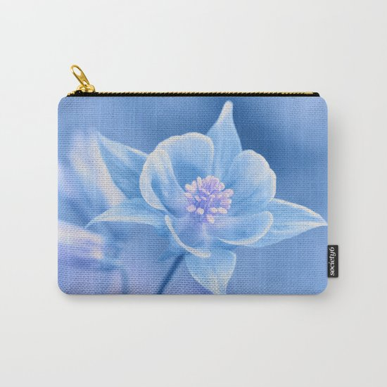 Columbine Flower 161 Carry-All Pouch
