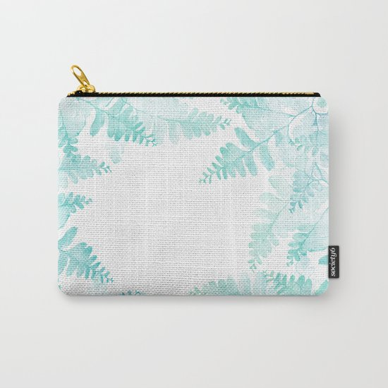 Ferns Jungle Carry-All Pouch