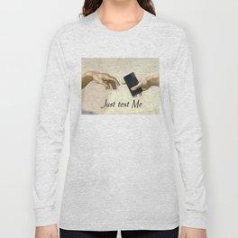 God's Gift: Text Me Long Sleeve T-shirt