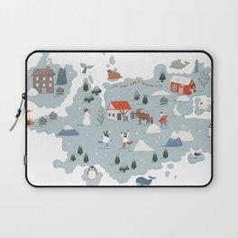 Winter Village Laptop Sleeve
