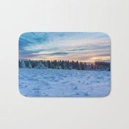 Frozen Landscape Bath Mat