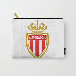 AS Monaco Logo Carry-All Pouch