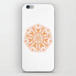 Magic Seven Mandala eden spirit orange iPhone Skin