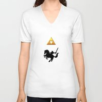 the legend of zelda V-neck T-shirts featuring Legend Of Zelda by Kesen