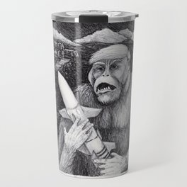 Primate Posturing Travel Mug