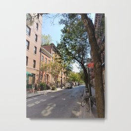 Greenwich Village, New York Metal Print