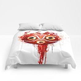 princess mononoke mask  Comforters