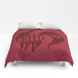 The Fox's Sin of Greed Comforters