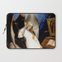 The Angel of Death Laptop Sleeve