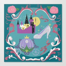 A Fairy Tale With A Happy Ending Canvas Print