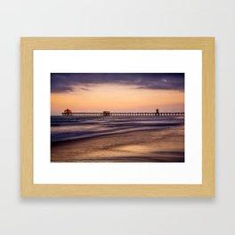Sunset SoCAL Framed Art Print