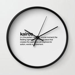 Kairos Wall Clock