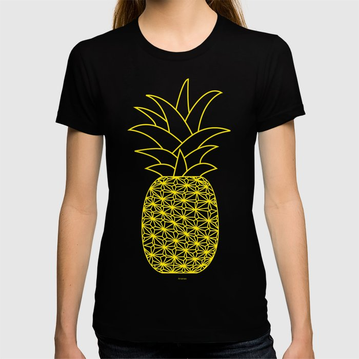 Ananas yellow T-shirt