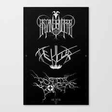 The Best Ever Death Metal Bands Out Of Denton Canvas Print