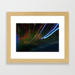 Long Light Framed Art Print