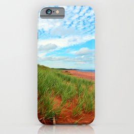 Red Dunes and Beach Grass iPhone Case