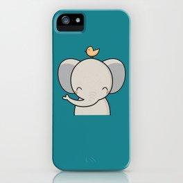 Kawaii Cute Elephant iPhone Case