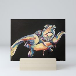 Rainbow Turtle Mini Art Print