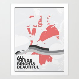 Bright and Beautiful Art Print