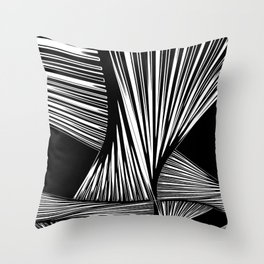 Dissolved tissue Throw Pillow